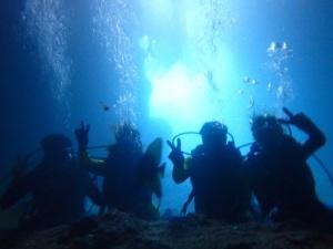 青の洞窟体験ダイビング♪