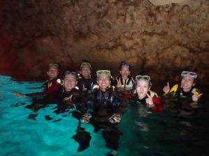 青の洞窟シュノーケルです^^