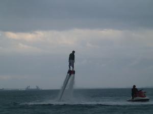 沖縄のジェット フライボードです!!