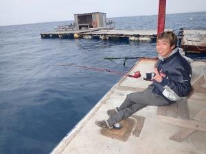 イカダ釣りに行ってきましたー!