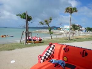 バナナボートとウェイクボード