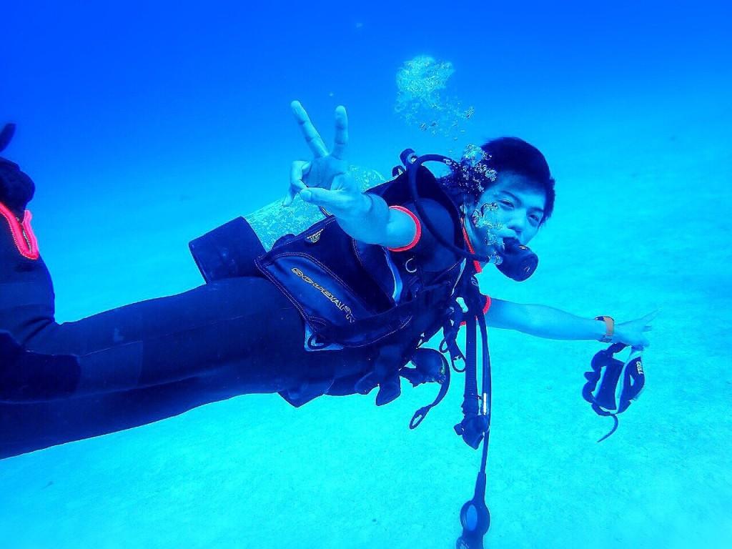 思いっきり楽しくダイビング!
