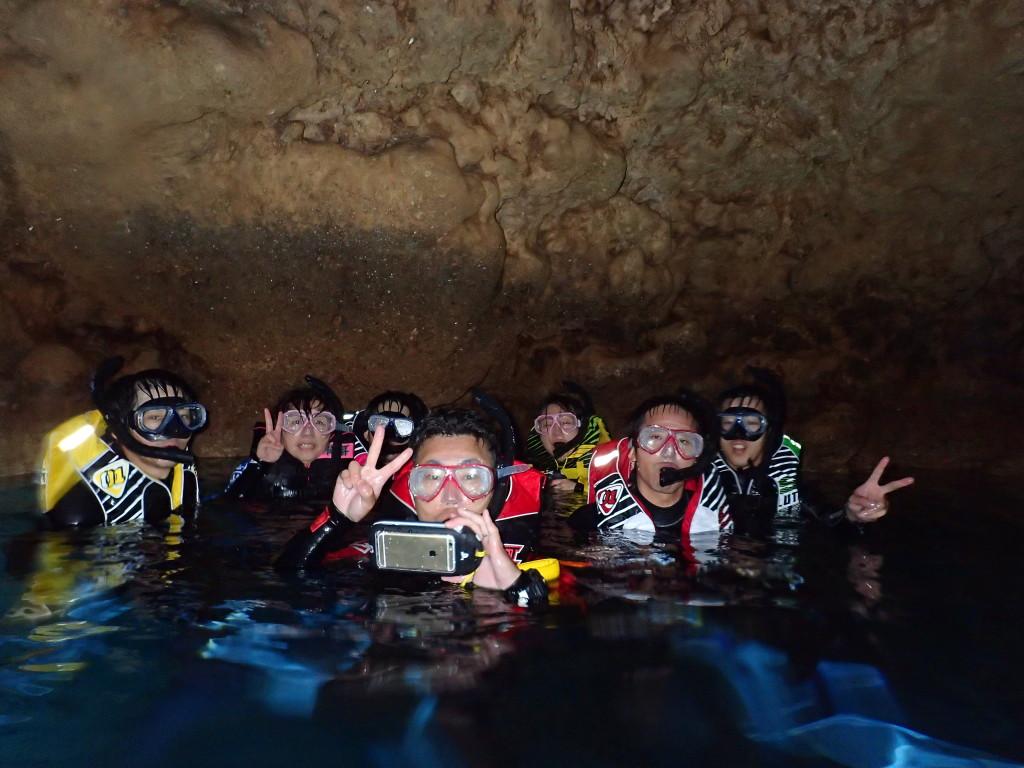 青の洞窟シュノーケリング 4月22日