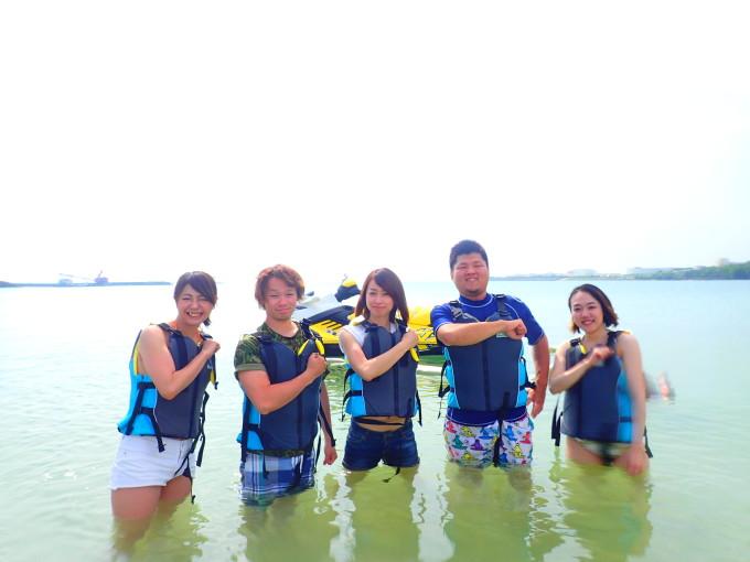石川ビーチでフライボード!!!