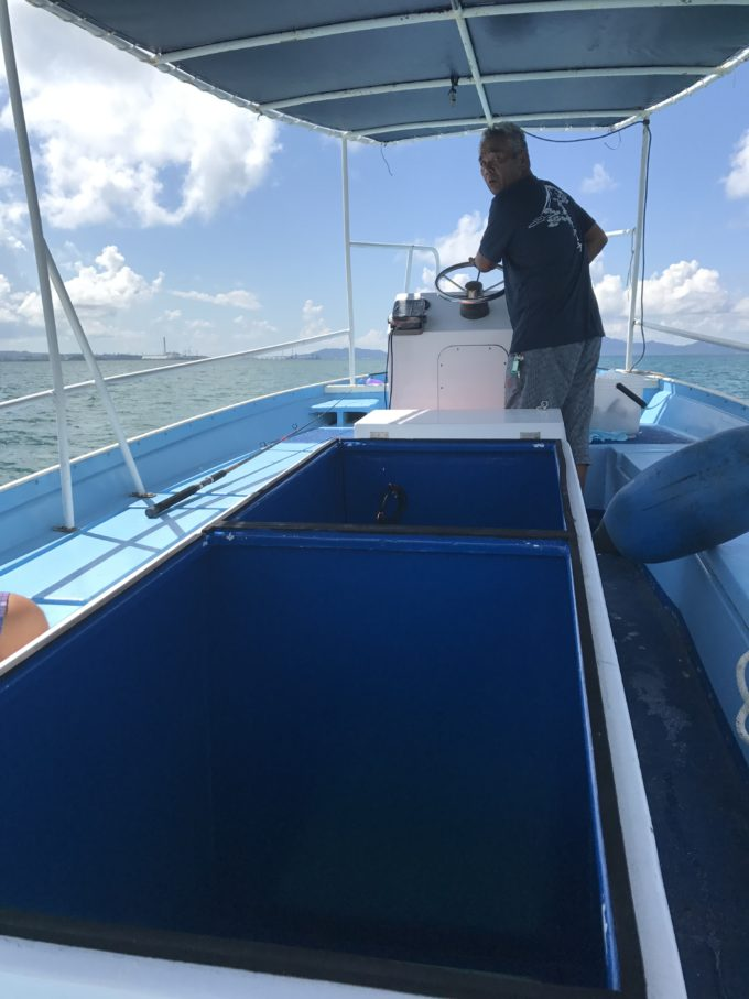 初!ガラスボート