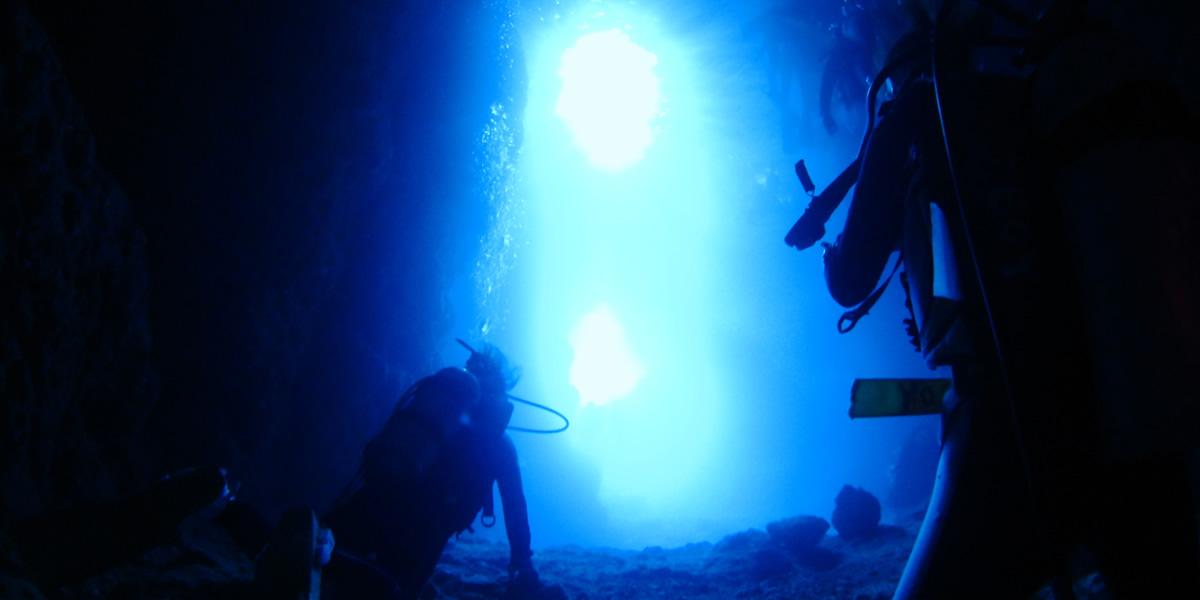 青の洞窟コース